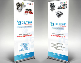 Roll up banner Celtemp