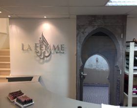 La Femme – design en lichtreclame